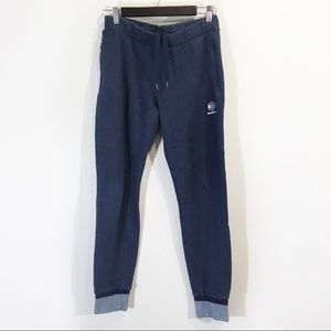 Champion Ankle Jogger Sweatpants Size Small Blue